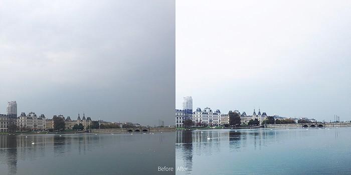 Editing iphone photos