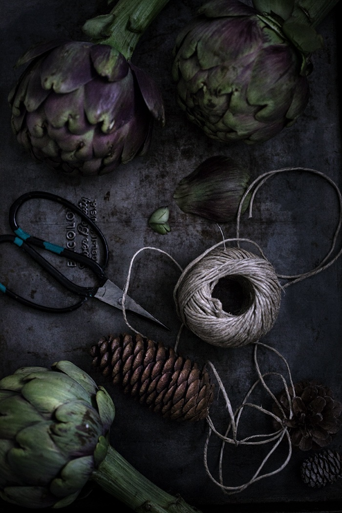 Food Photography | Artichokes
