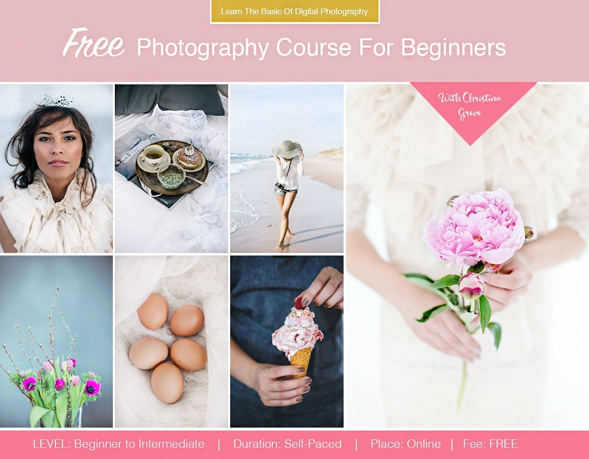 photography course for beginners pdf