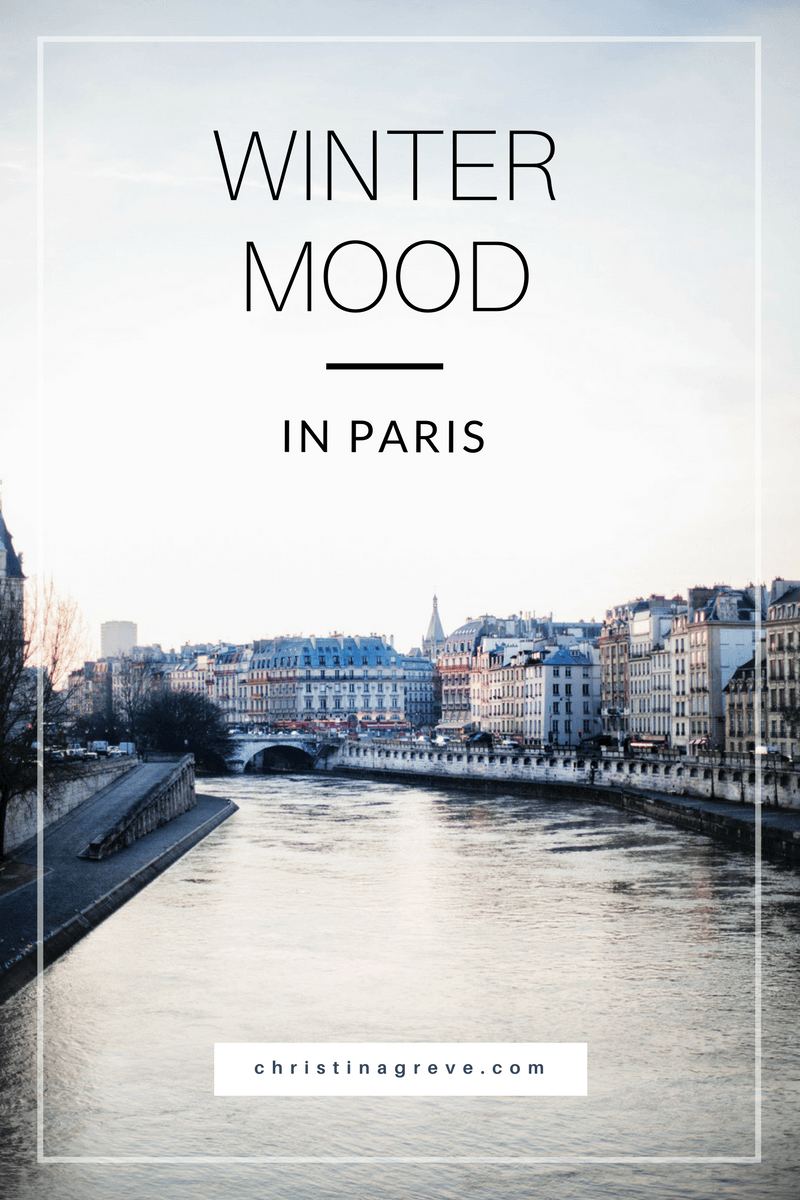 winter mood in Paris