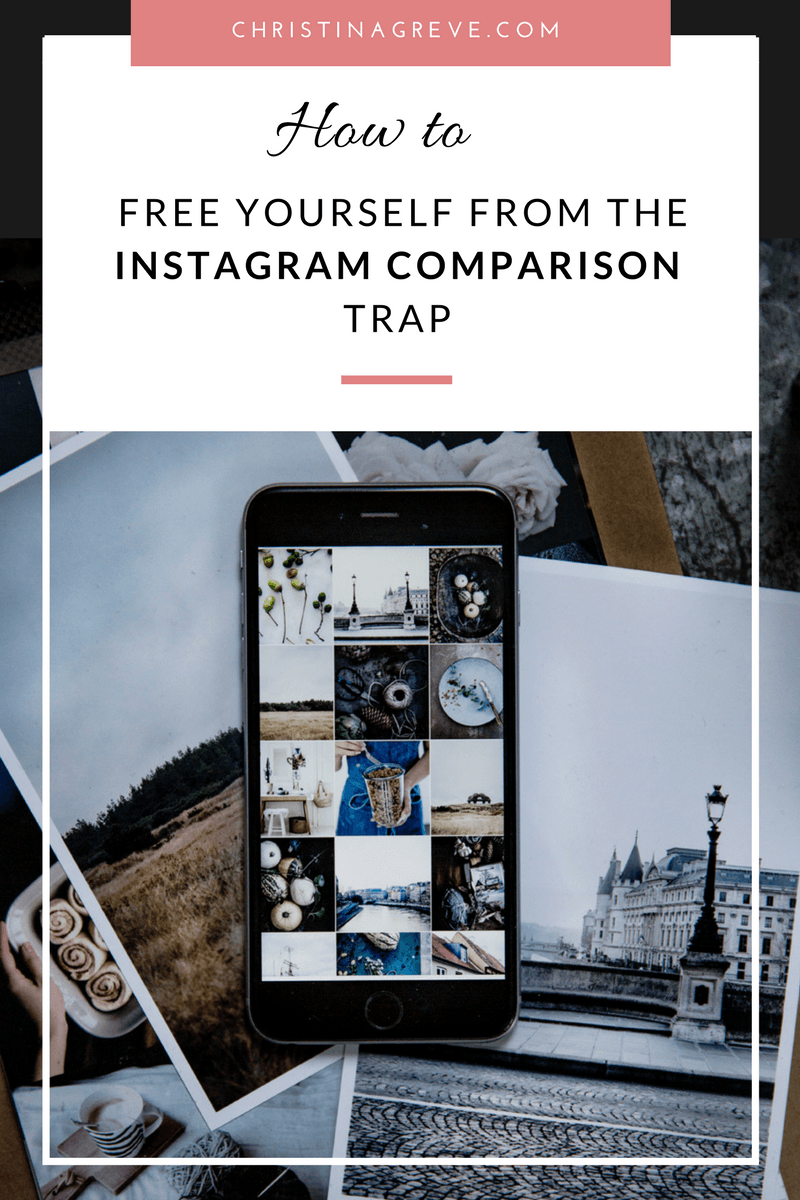 Free Yourself From The Instagram Comparison Trap