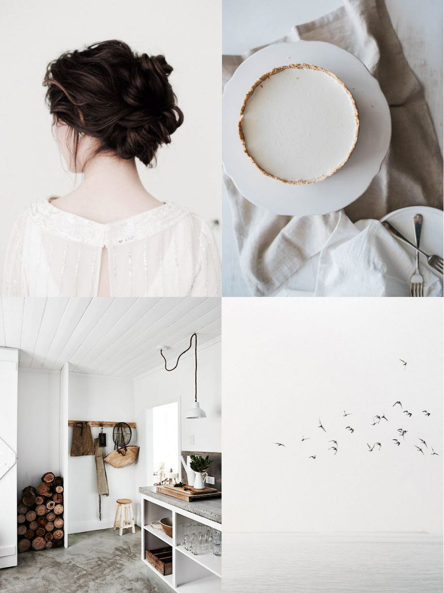 dreamy white
