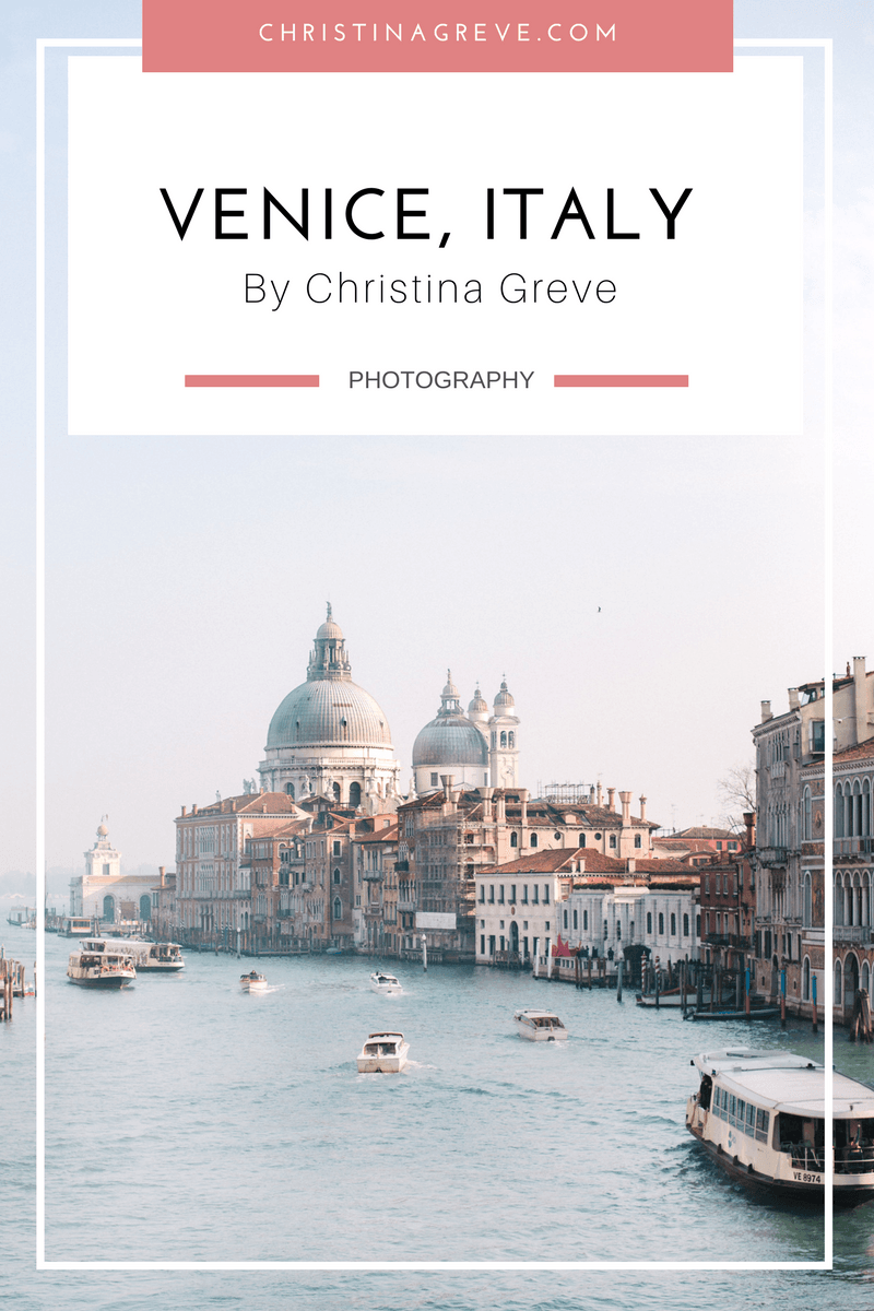 Venice. Italy. By Christina Greve