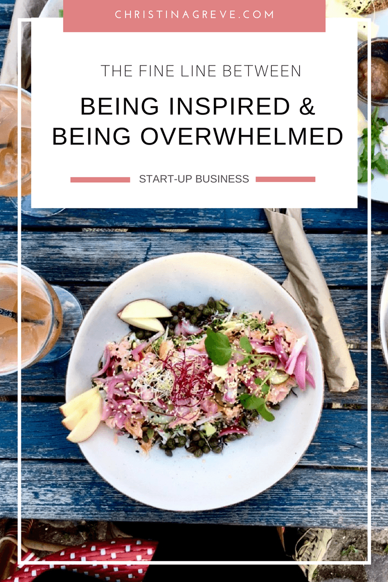 The Fine Line Between Being Inspired & Being Overwhelmed