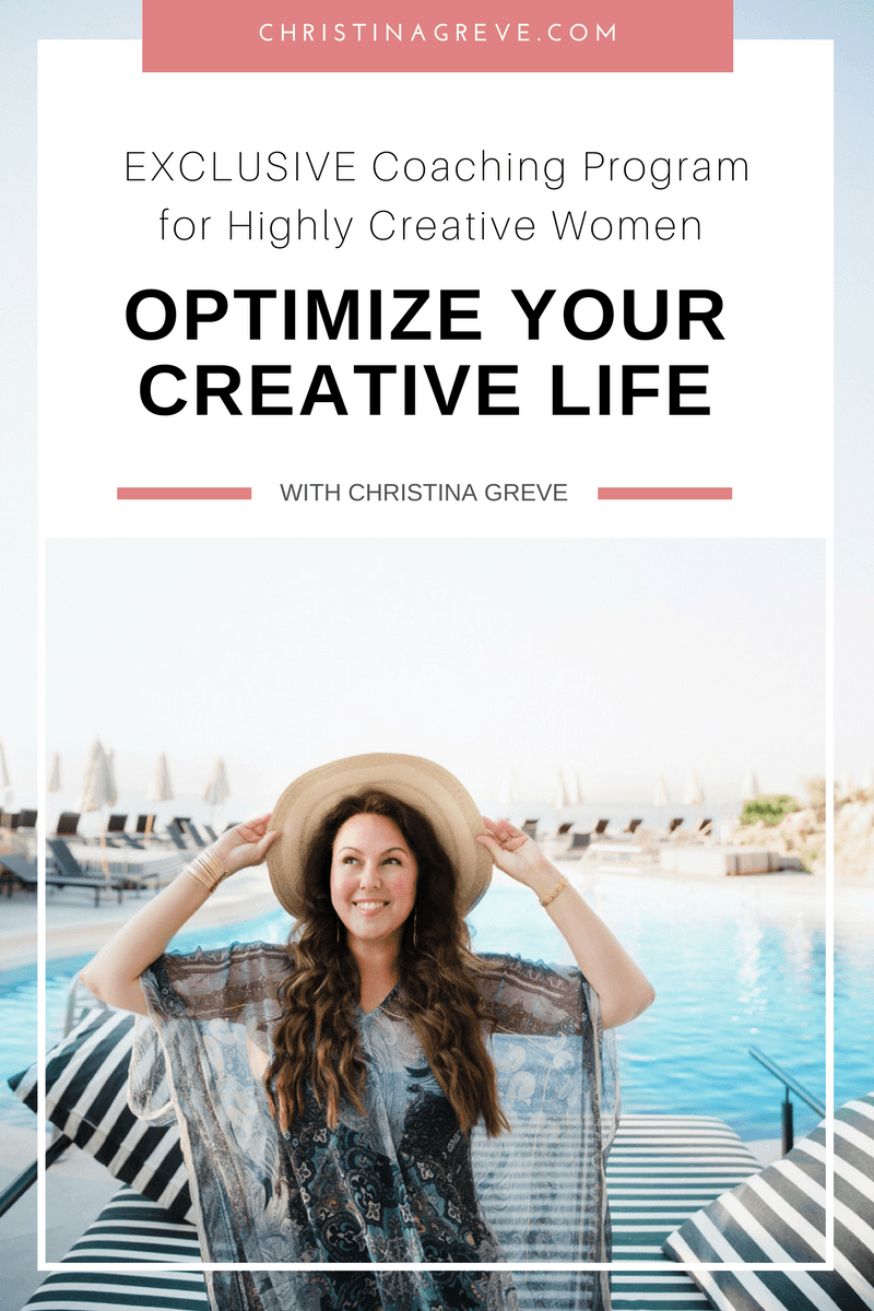 Optimise Your Creative Life