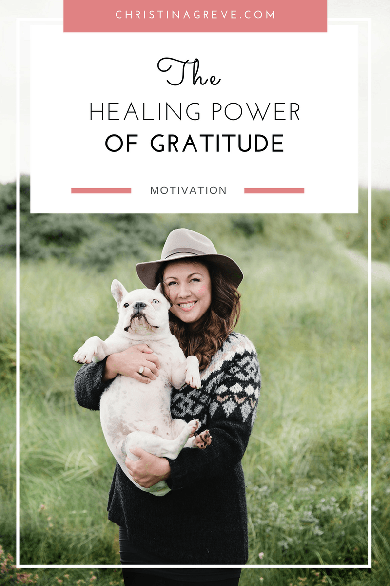 The healing power of gratitude by Christina Greve