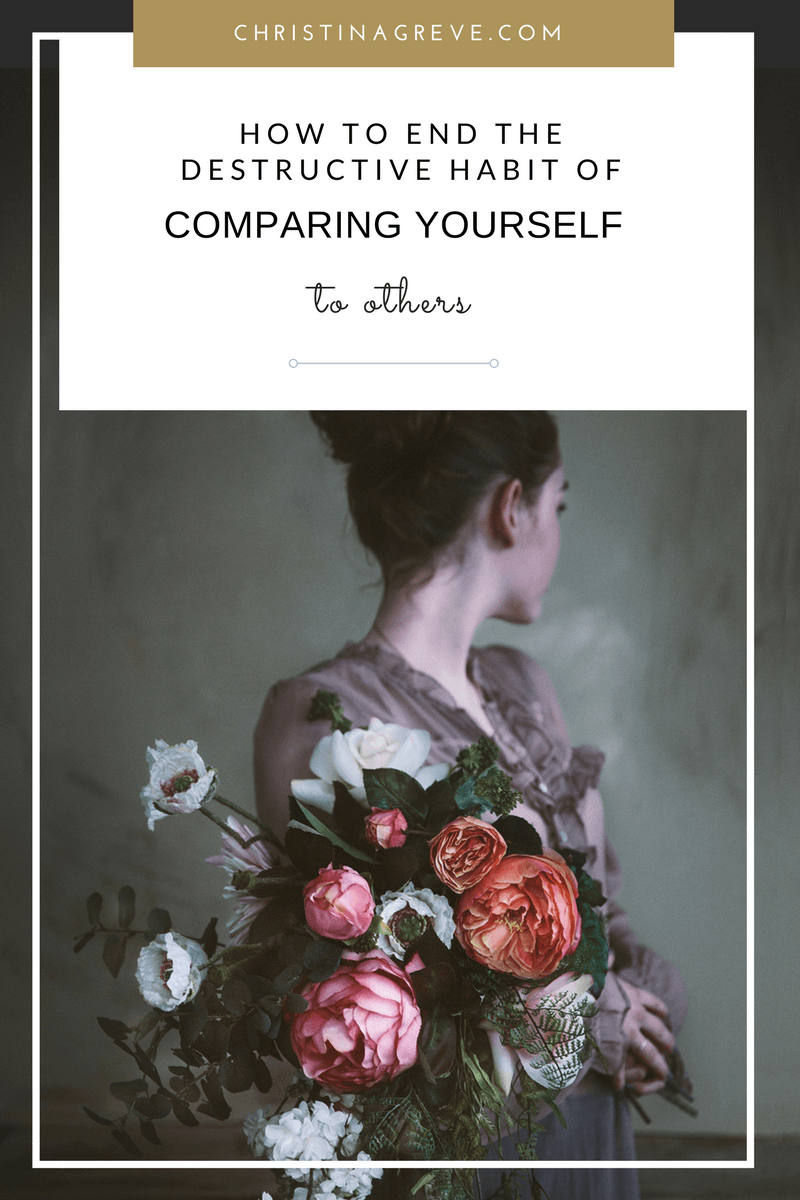 How To End The Destructive Habit of Comparing Yourself To Others