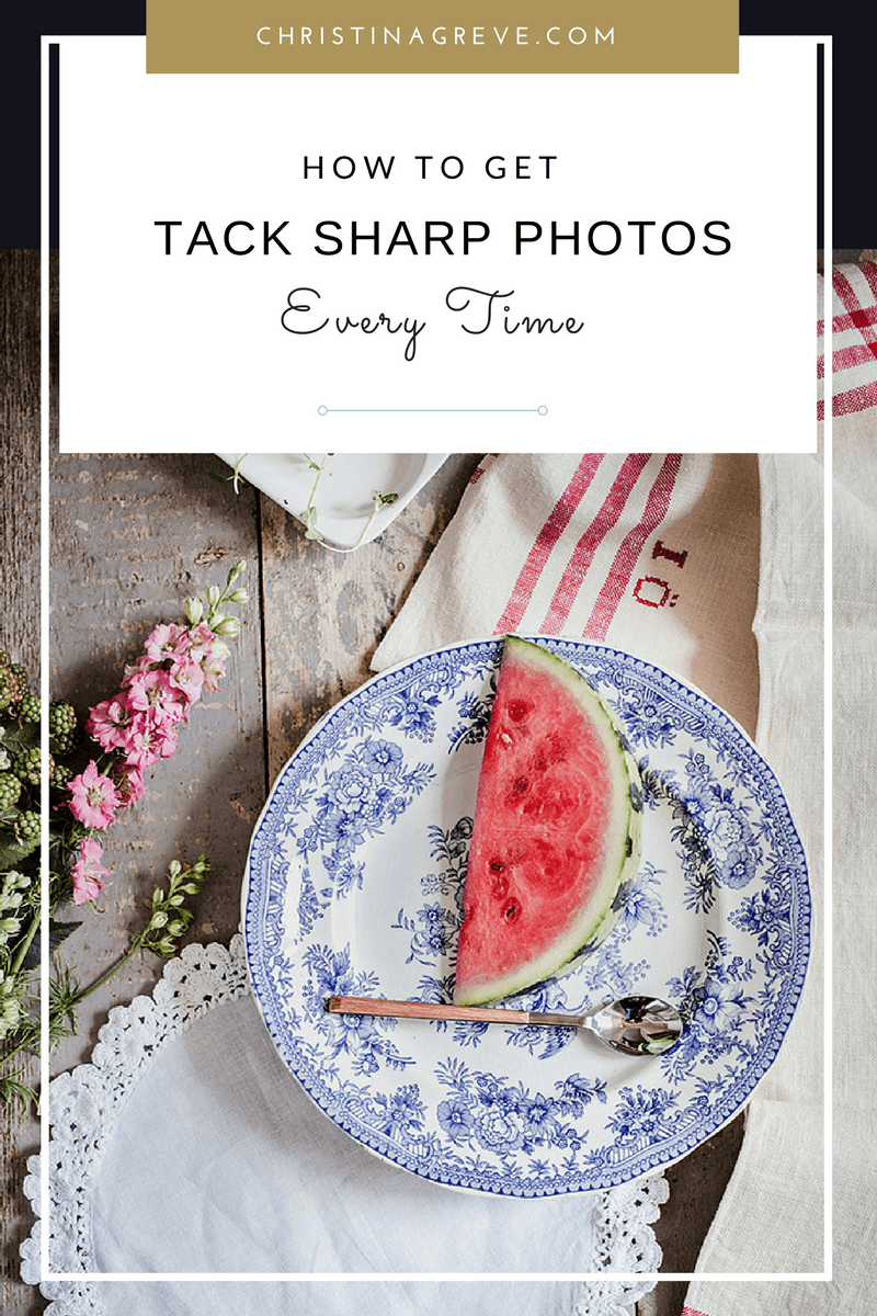 How To Get Tack Sharp Photos - Every Time!