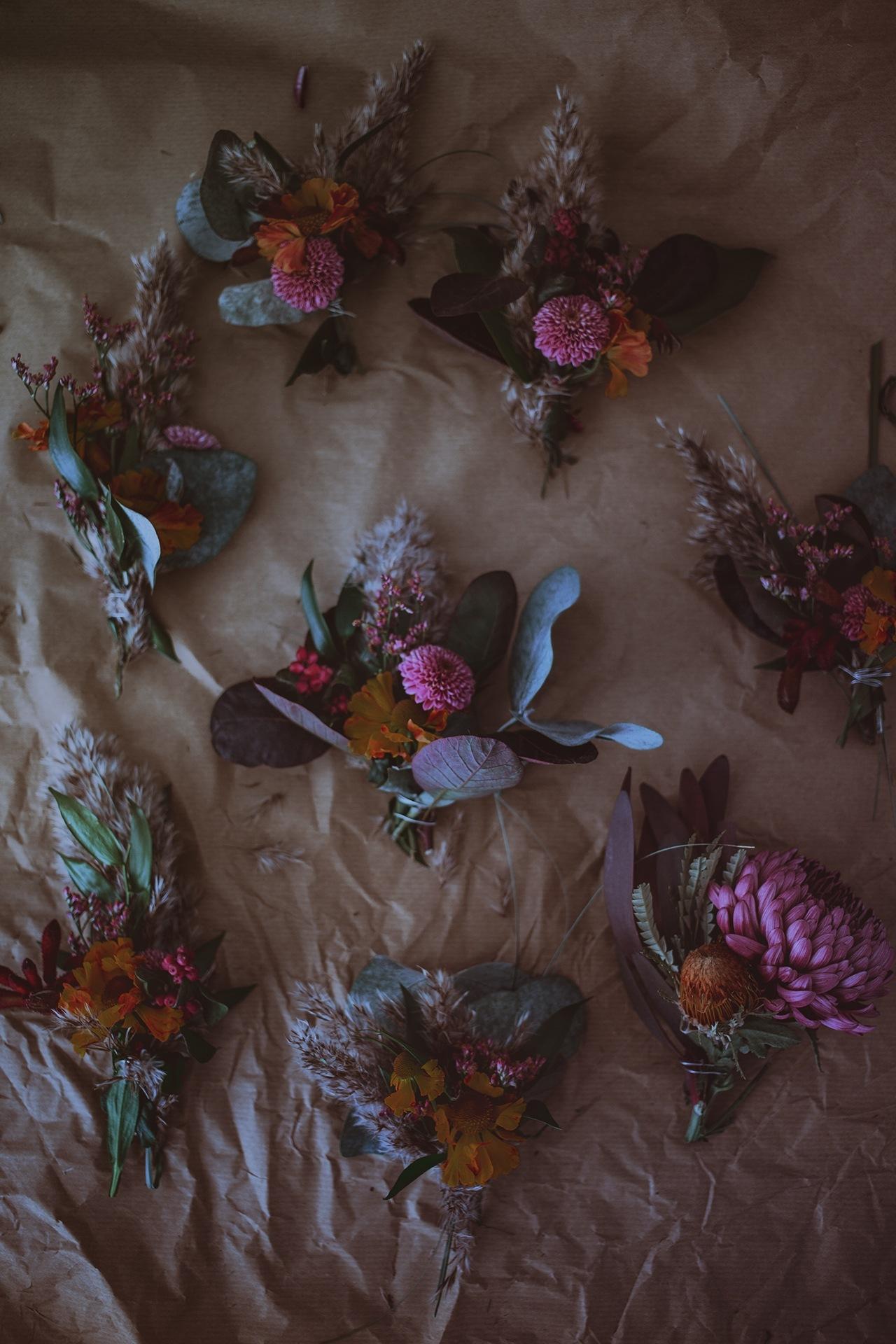 Dark & Moody Flowers by Christina Greve