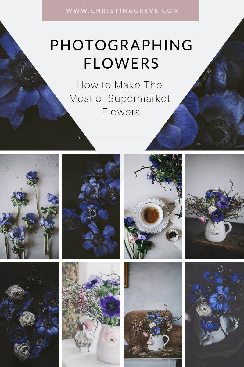 Photographing Flowers: How To Make The Most Of Supermarket Flowers