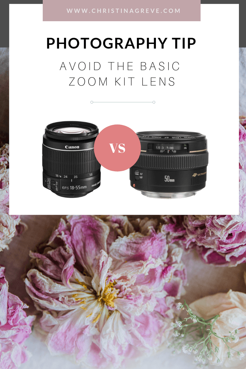 Photography Tip: Avoid The Basic Zoom Kit Lens