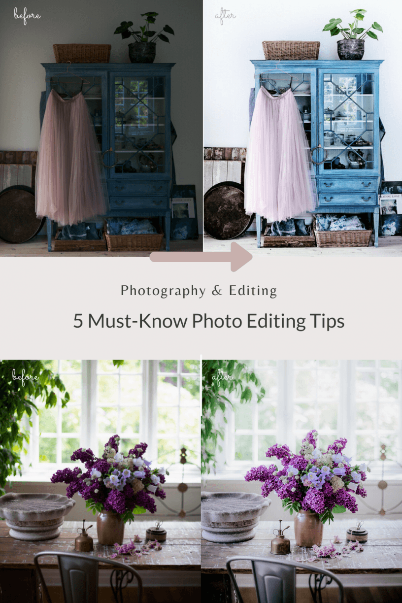5 Must-Know Photo Editing Tips