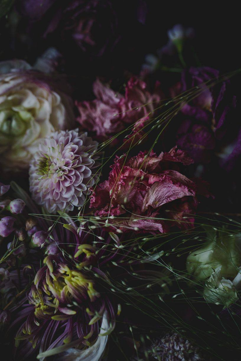 old flowers fine art photography